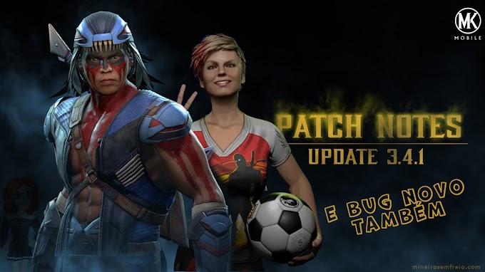 Atualização 3.4.1 do Mortal Kombat Mobile