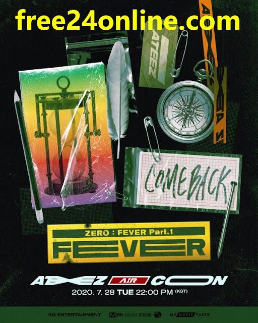 ateez comeback show poster
