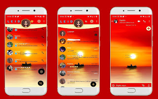 Boat & Sun Set Theme For YOWhatsApp & Fouad WhatsApp By Leidiane
