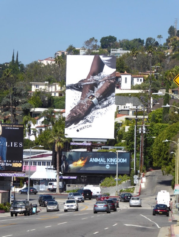 Apple Watch 2017 billboard Sunset Strip