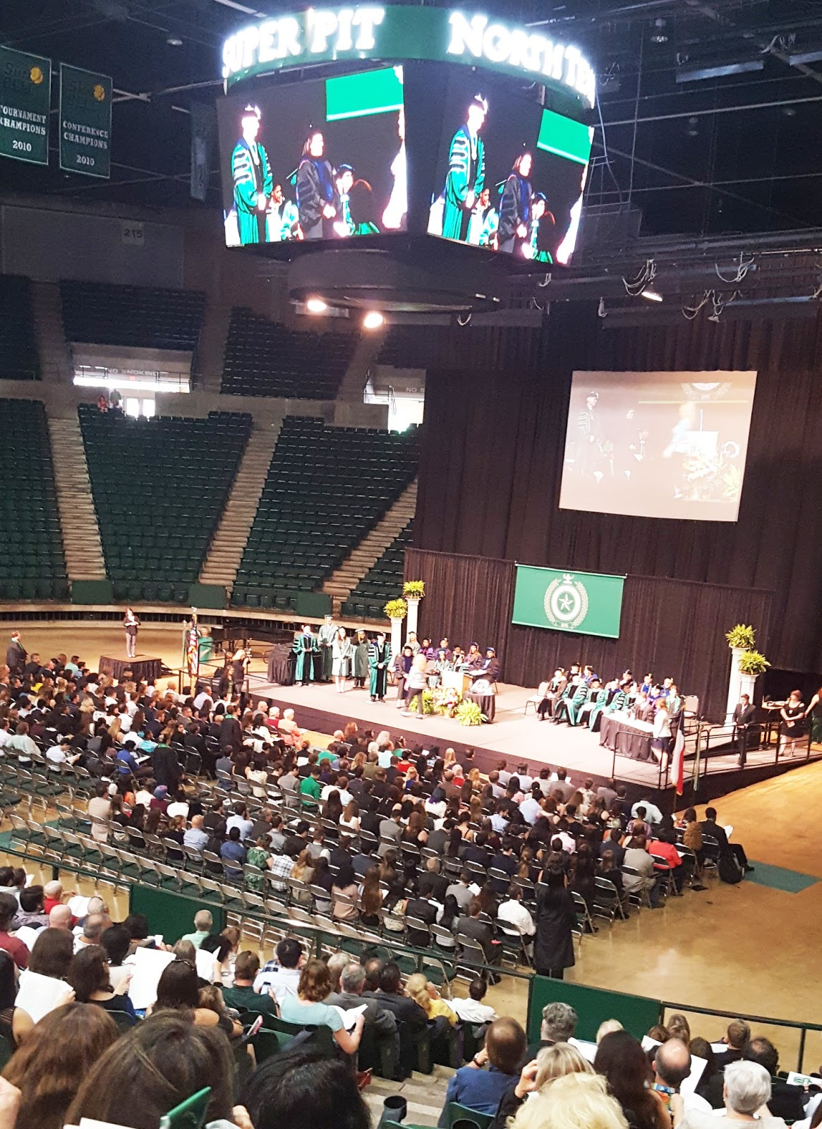 Honors Day Convocation In The UNT Coliseum