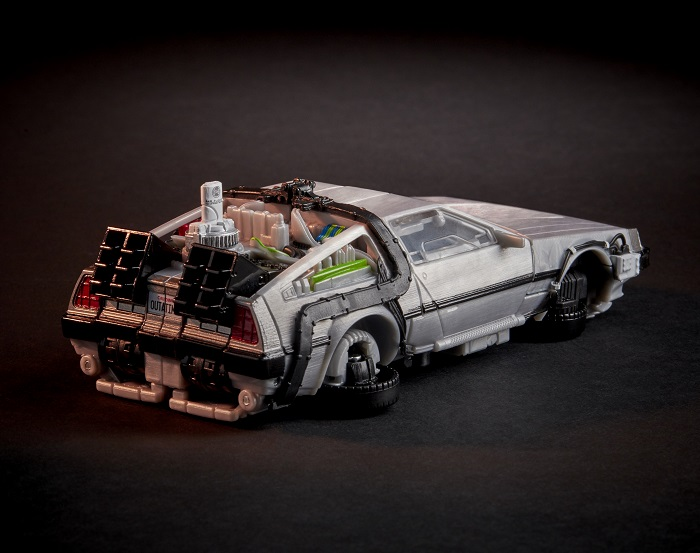 Back To The Future Transformer Gigawatt Delorean Time Machine
