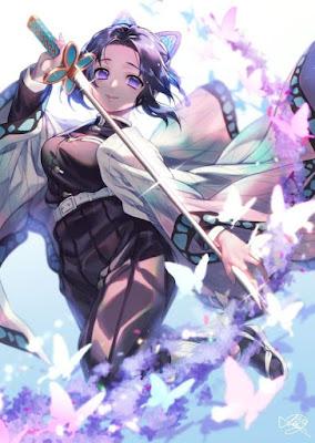 Demon Slayer fanart: Shinobu Kocho