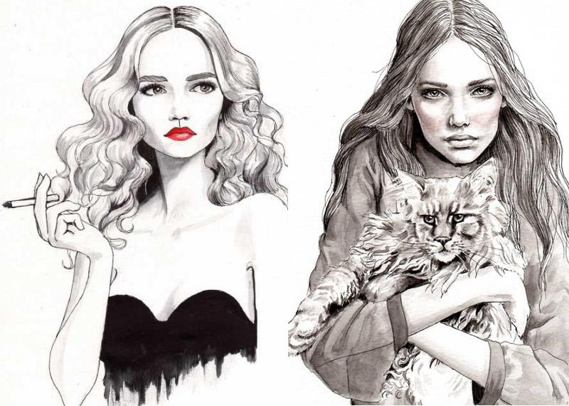 JOYCE: My Fav Fashion Illustrator At The Moment