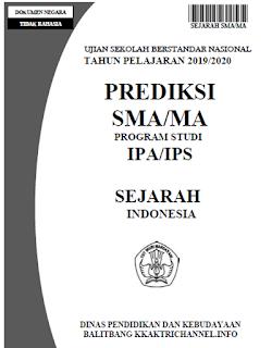 Soal Prediksi Ujian Sekolah (US) Sejarah Indonesia SMA tahun 2020