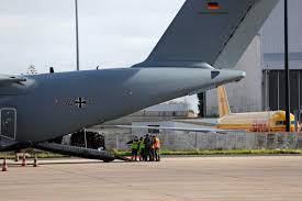 German medical help arrives in Portugal