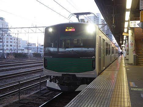 烏山線直通 烏山行き EV-E301系