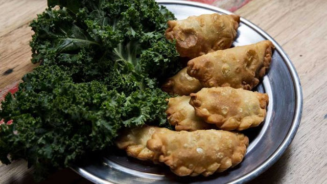 Sambousek Fried Stuffed Pastries Recipe