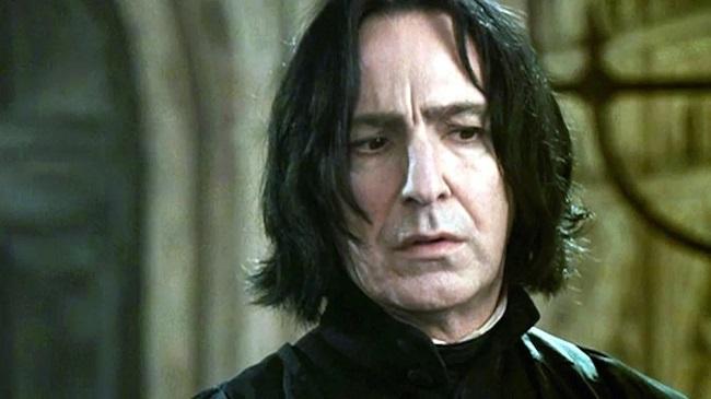 Severus Snape em cena de Harry Potter/Warner Bros/Reprodução