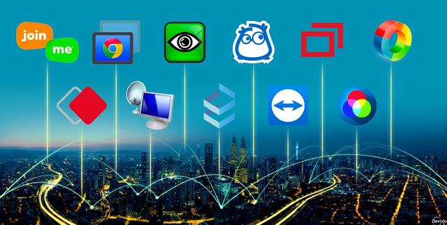 أفضل 3 برامج تمكنك من عمل اتصال سطح المكتب والتحكم عن بعد 2021