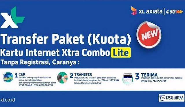 Cara Transfer Kuota XL