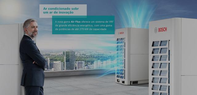Gama Air Flux da Bosch: eficiência energética e inovação