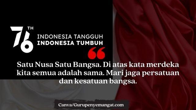 Animasi Bergerak Ucapan Hari Kemerdekaan Indonesia Tahun 2021