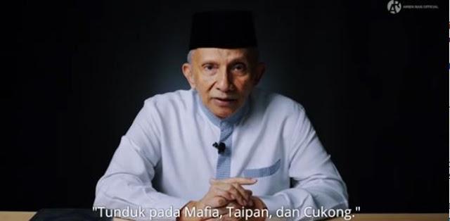 Amien Rais: Ada Kelakar Politik yang Berupaya Mengganti RI Menjadi Republik Mafia Indonesia