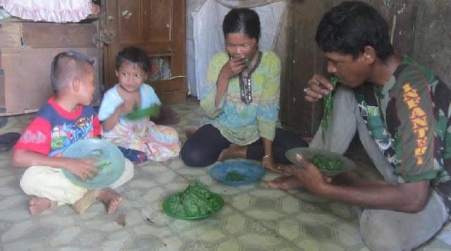 Lima Tahun Lebih Keluarga Miskin ini Memakan Daun-Daunan Demi Bertahan Hidup