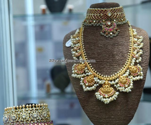 Lakshmi Guttapusalu Kundan Chokers by Snehareddy