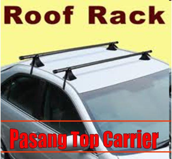 Fire Starting Automobil Pasang Roof Rack Carrier Atas Kereta