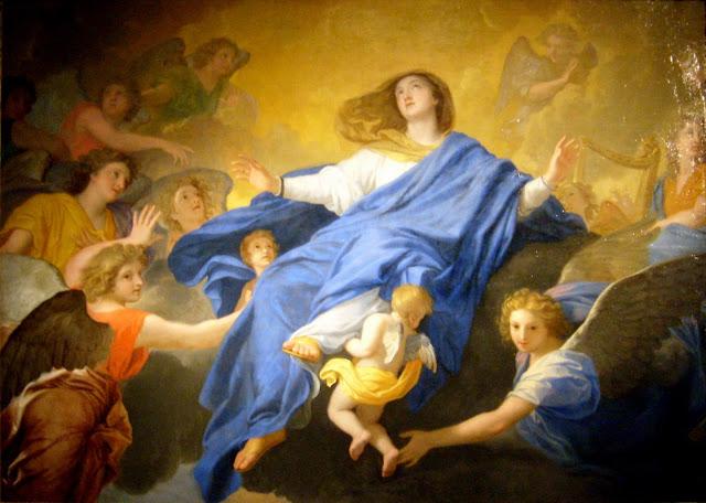 La Virgen de la Asunción - 15 de Agosto