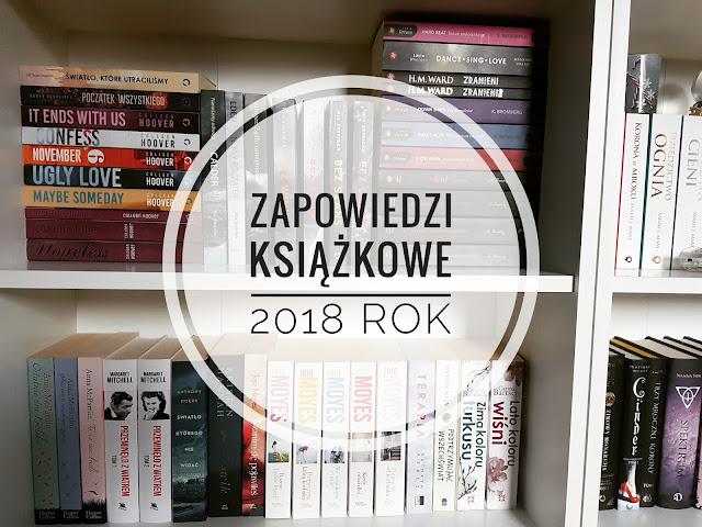 Zapowiedzi książkowe - Luty 2018 rok
