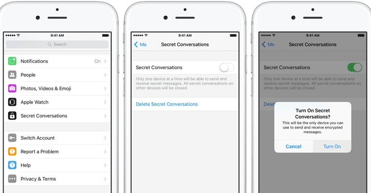 How to delete whole conversations on facebook messenger