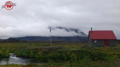 Herðubreið (cubierta de nubes), Islandia