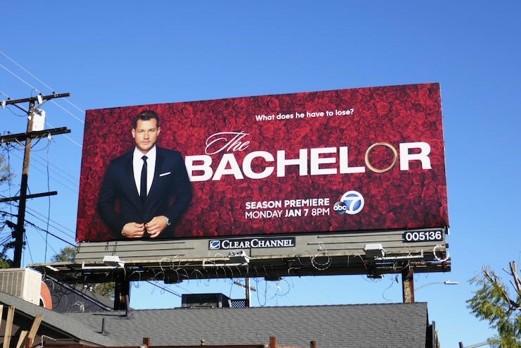 Colton Underwood Bachelor season 23 billboard