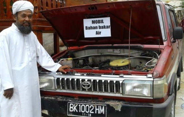 Mobil Bahan Bakar Air di Indonesia