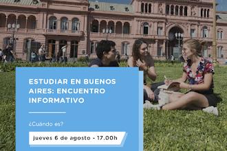 Webinar informativo de Educación en Buenos Aires - Argentina