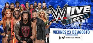 WWE ¡En vivo!  Bogotá, Colombia | Movistar Arena