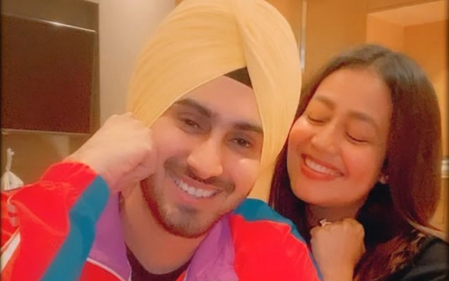 Neha Kakkar with Rohanpreet