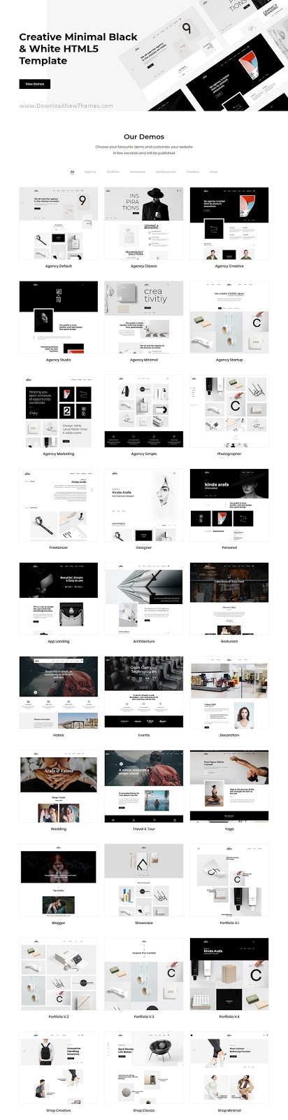 Creative Multipurpose HTML Theme