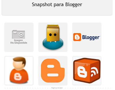 Entradas Resumidas estilo Snapshot en Blogger