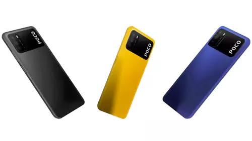 Poco M3 ألوان
