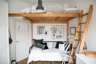 ห้องนอนชั้นลอย