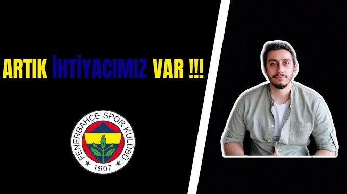 ARTIK İHTİYACIMIZ VAR !!!