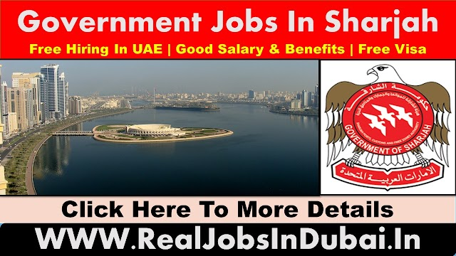 Government Jobs In Sharjah - UAE