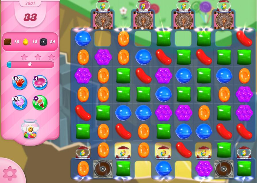 Candy Crush Saga level 2901