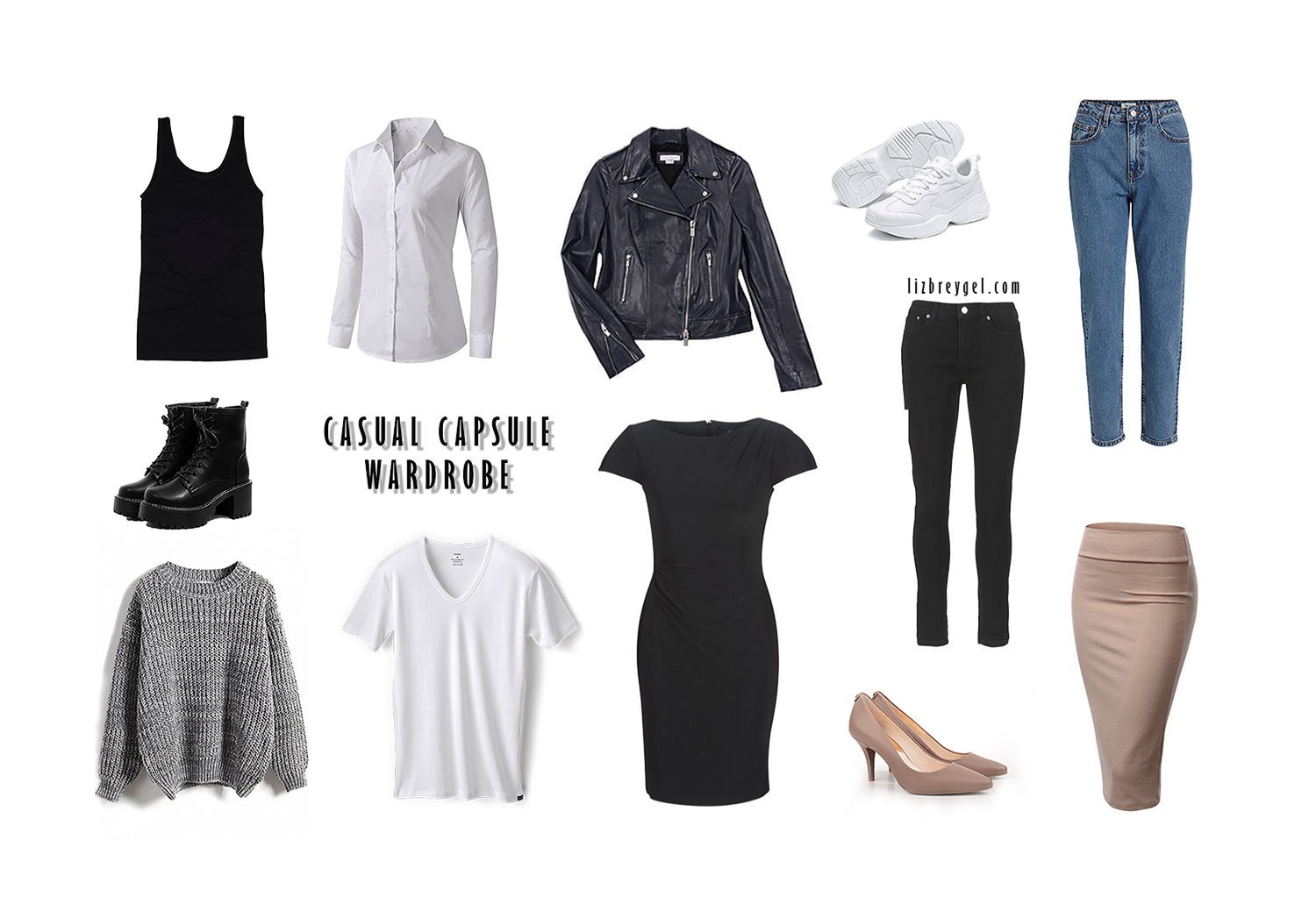 What Is Capsule Wardrobe & How to Start One by Liz Breygel on Janaury Girl fashion blog