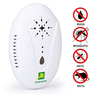 Neatmaster Ultrasonic Pest Control Mosquito Repeller