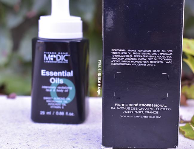 Aceite Revitalizante Essential Oils de Pierre René