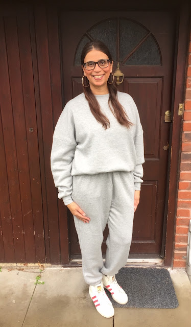 Grey Averi loungewear set