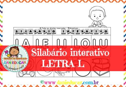 Silabario Interativo Letra L