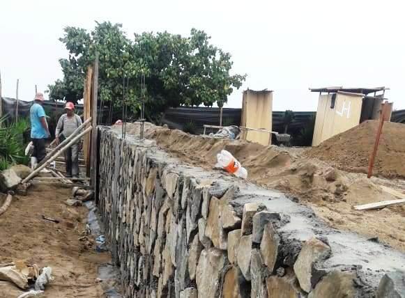 Casas de Playa - Muro de contención