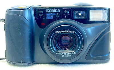 Konica Z-up 28W, Front