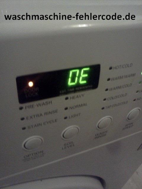 OE-Fehler In Der LG-Waschmaschine