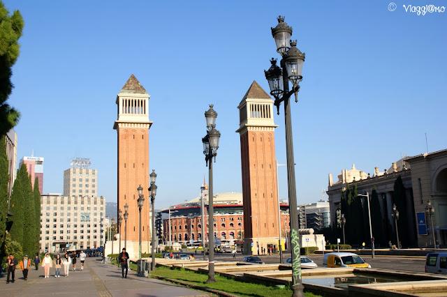Piazza di Spagna e Torri Veneziane Barcellona