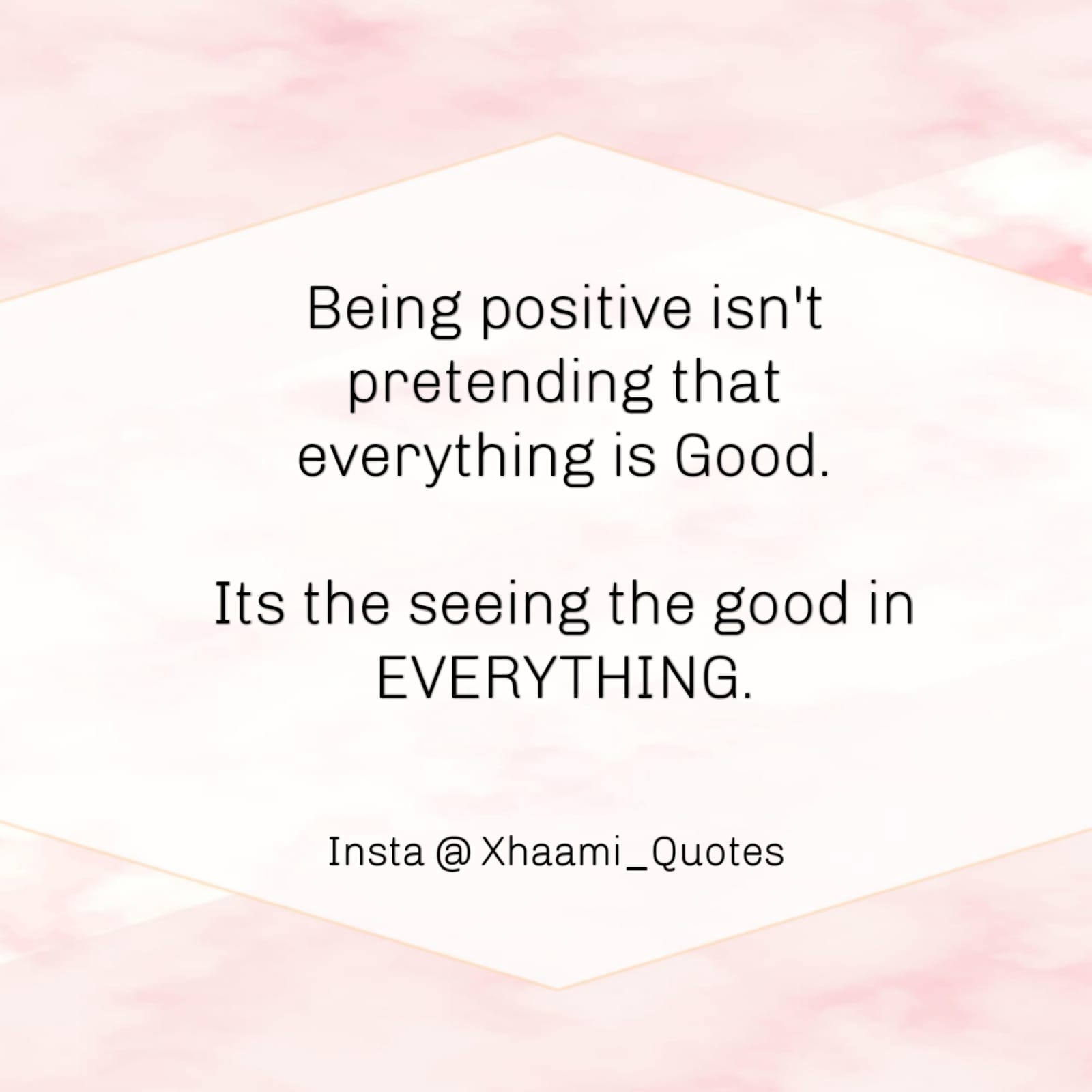 Positive Quote with image and Text form