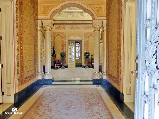 Palacete Rosa - Hall de entrada