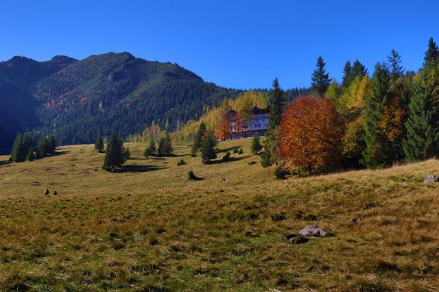 Polana Kalatówki w Tatrach Zachodnich (jesienią)