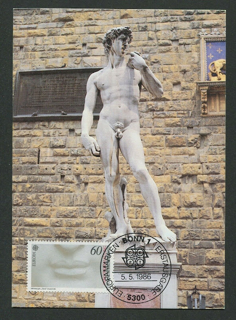Germany Michelangelo's David maximum card